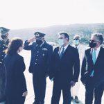 Από την υποδοχή της Πρόεδρου της Δημοκρατίας Α.Σακελλαροπούλου στα Δωδεκάνησα