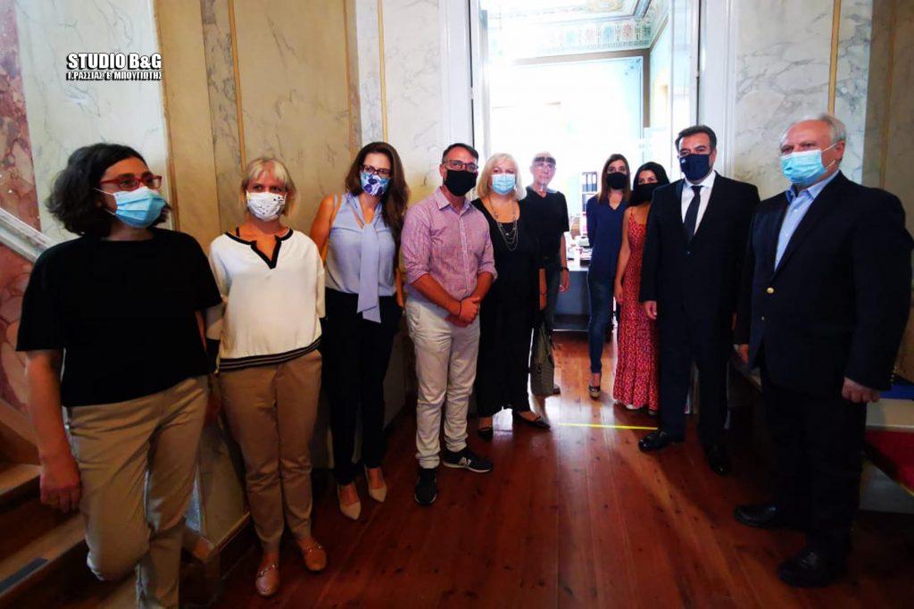 Ο Μάνος Κόσνολας στο ΙΕΚ Τουρισμού στο Αργος
